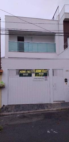 Sobrado Com 3 Dormitórios À Venda Por R$ 800.000 - Chora Menino - São Paulo/sp - So0928
