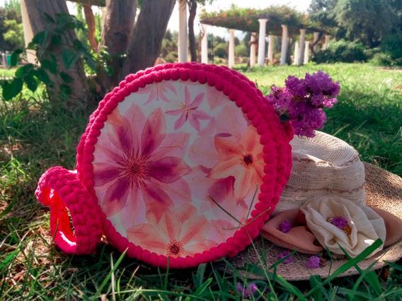 Bolsos Redondos Tejidos Al Crochet