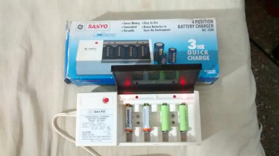 Cargador De Baterias Multiples Marca Sanyo