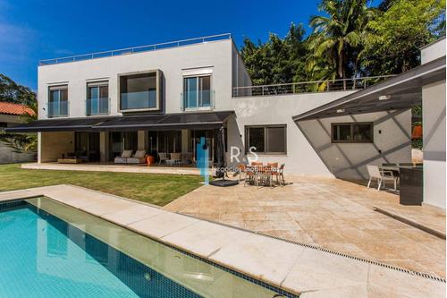 Casa Com 3 Dormitórios À Venda, 388 M² Por R$ 4.900.000 - Vila Tramontano - São Paulo/sp - Ca0517