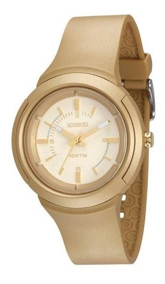 Relógio Feminino Speedo Analógico Kit 65089l0evnp1k1 Dourado