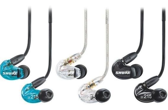 Fone De Ouvido In Ear Shure Se215 - Frete Gratis