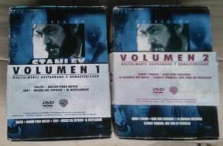 Dvd Stanley Kubrick Coleccion Volumen 1 Y 2 Original 8 Dvds