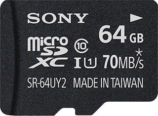 Cartão De Memória Micro-sd 64gb Classe 10 - Sr-64uy2a