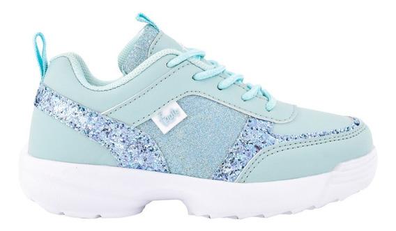 Zapatillas De Neoprene Y Glitter U. Livianas - Footy Oficial
