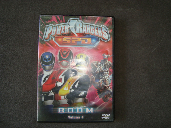 Dvd Original Power Rangers- S.p.d.- Boom- Volume 4