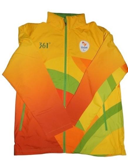 Rio2016 Casaco Oficial Jogos Paralimpicos Voluntários 3xl 4g