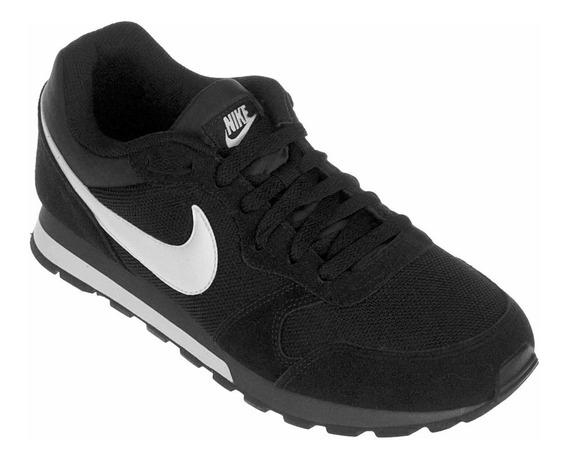 Tenis Nike Md Runner 2 Preto E Branco, Masculino, Original