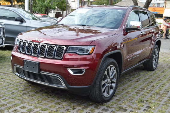 Jeep Grand Cherokee 2018 Limited Lujo V6 Rojo