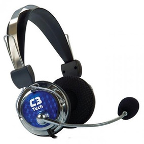 Fone De Ouvido Com Microfone Gamer C3tech