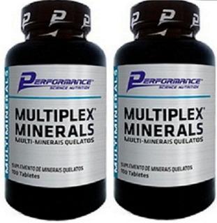 Multiplex Multimineral Quelato Performance Nutrition 100t 2u