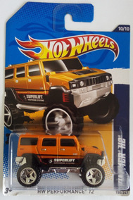 Hummer H2 Hotwheels Hw Performance 2012 Nuevo