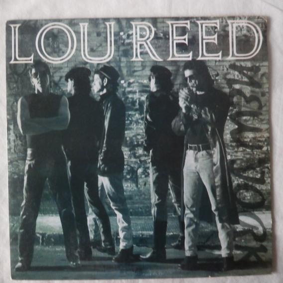 Lp Lou Reed 1989 New York, Vinil Seminovo Com Encarte