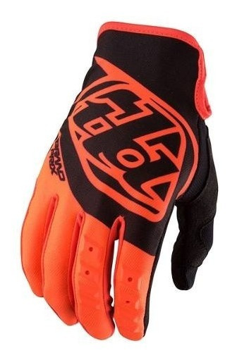 Guantes Motocross Troy Lee Gp Niño Naranja