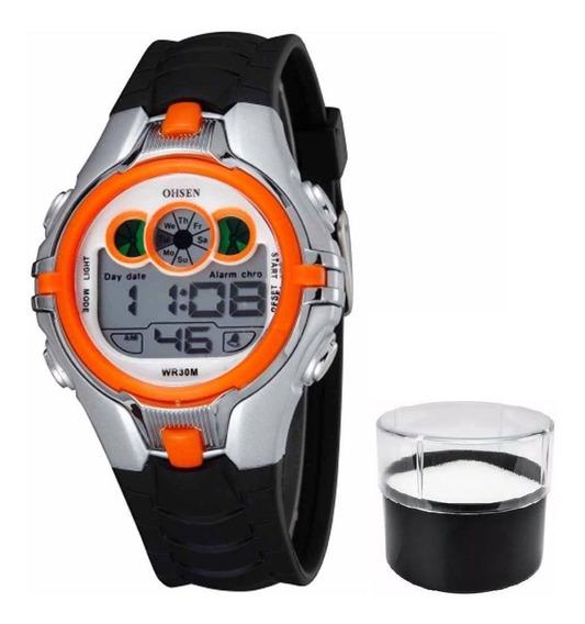 Relógio Ohsen Infantil Original Modelo 0739 Prova D