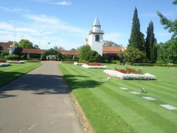 Parcela En Zona A Del Parque Memorial, Pilar