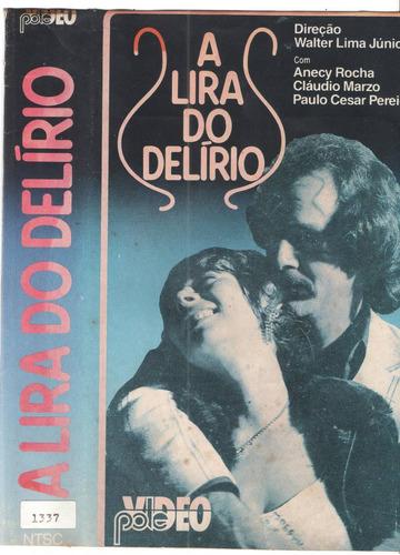 Vhs A Lira Do Delirio /nacional-1978 /original /usado