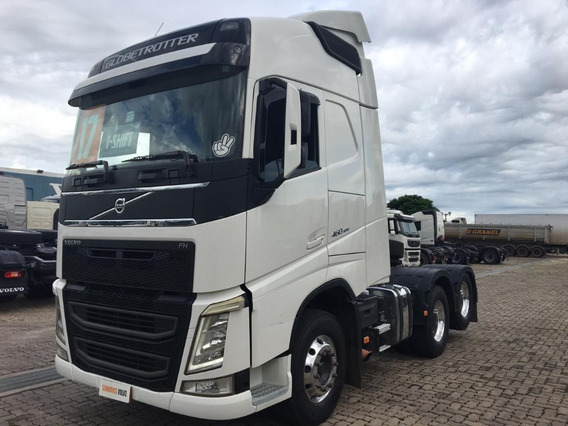 Volvo Fh 460 Globettroter Ls 6x2 2017-2018 - Baixou !!!
