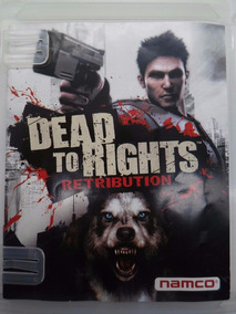Dead To Rights Retribution Ps3 Mídia Fisica Original Reg. 2