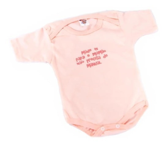 Body Com Frase - Made In Papai E Mamãe - Tilele Baby