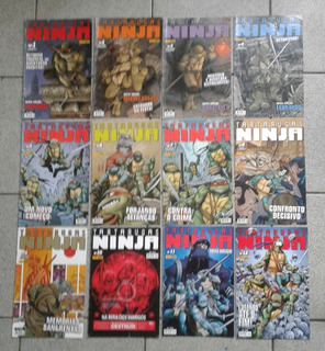 Hq Tartarugas Ninja /panini In Box Completa: Edição 01 A 12