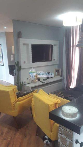 Apartamento Com 02 Dormitórios Sendo 01 Suíte No, Rio Pequeno - A62807