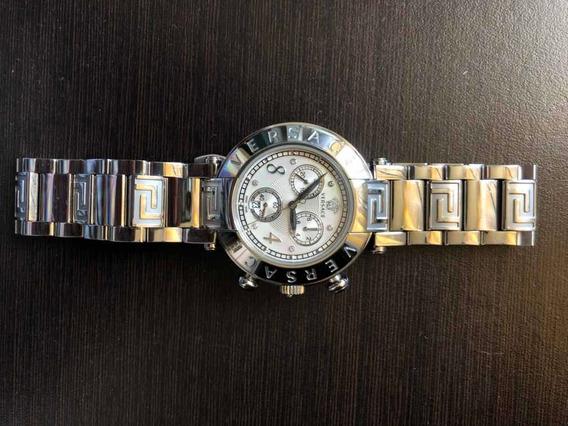 Versace reve Chrono Reloj De Cuarzo Suizo Acero Inoxidable