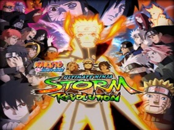 Naruto Shippuden: Ultimate Ninja Storm Revolution Ps3 Pt-br