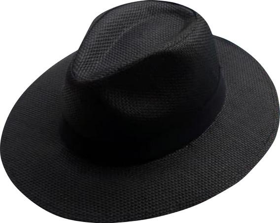 Chapéu Moda Panamá Aba Grande Feminino Masculino Unissex