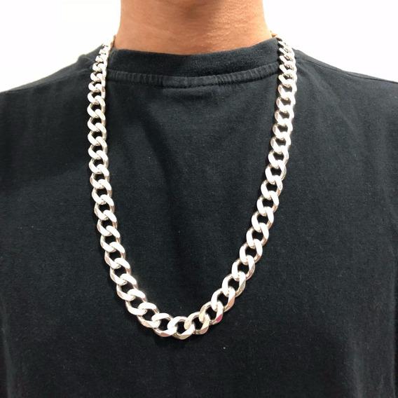 Corrente De Prata Italiana Cordão Prata 925 65cm 180 Gramas