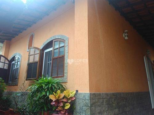 Imagem 1 de 20 de Casa Com 3 Quartos, 200 M² Por R$ 650.000 - Santa Rosa - Niterói/rj - Ca16307