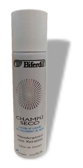 Shampoo Seco En Aerosol Sin Agua Para El Lavado Biferdil