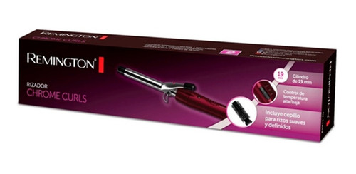 Rizador Chrome Curls Remington Ci11a19  Cepillo Premium !!