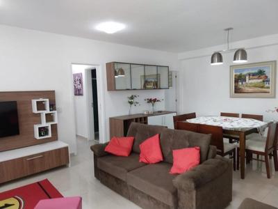 Apartamento Em Marapé, Santos/sp De 84m² 2 Quartos À Venda Por R$ 460.000,00 Ou Para Locação R$ 2.300,00/mes - Ap194550lr