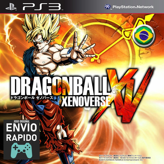 Dragon Ball Dragonball Dbz Xenoverse Jogos Ps3 Original