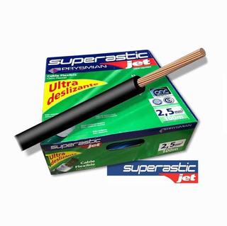Cable 2.5mm Unipolar Superastic Pirelli Prysmian X100mts