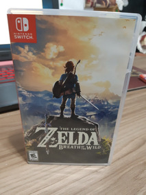 Jogo Zelda Breath Of The Wild - Nintendo Switch