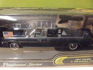 Carro A Escala Colección Limosina Lincoln De 1961 Kennedy