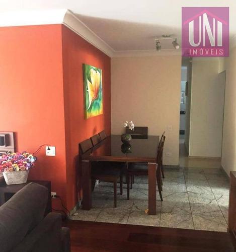 Imagem 1 de 14 de Apartamento Com 3 Dormitórios À Venda, 105 M² Por R$ 500.000,00 - Parque Das Nações - Santo André/sp - Ap1674