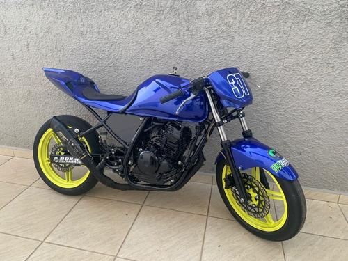 Imagem 1 de 5 de Yamaha Fazer 250 2011 - Moto De Pista Autodromo