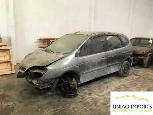 Sucatas Renault Scenic 1.6 16v 2005 Motor, Cambio, Portas