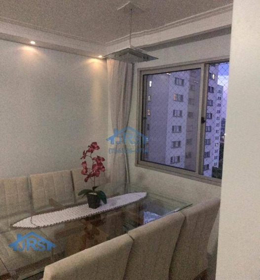 Apartamento Com 2 Dormitórios À Venda, 56 M² Por R$ 220.000 - Bandeiras - Osasco/sp - Ap2506