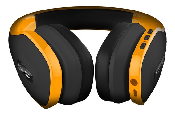 Fone Ouvido Headphone Pulse Wireless Amrelo Ph151 Multilaser