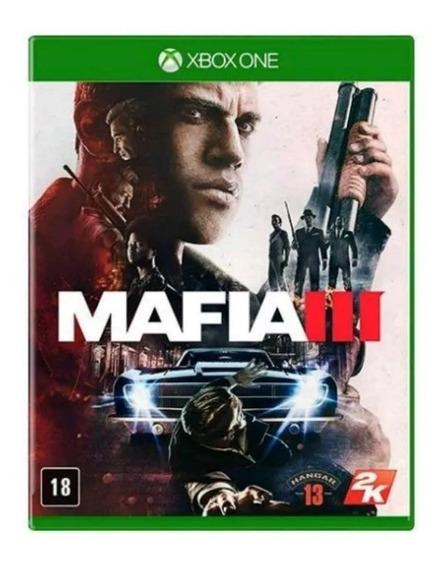 Mafia 3 Xbox One Mídia Física Original Lacrado Original