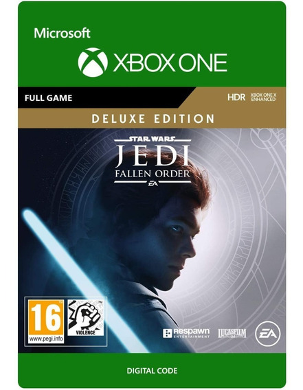 Star Wars Jedi Fallen Order Xbox One 25 Dígitos Env Imediato