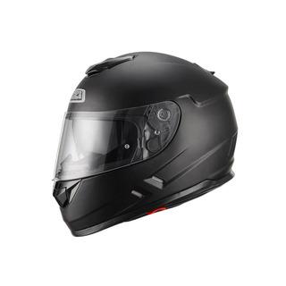 Casco Moto Doble Visor Negro Mate Nzi Symbio Duo Talle M