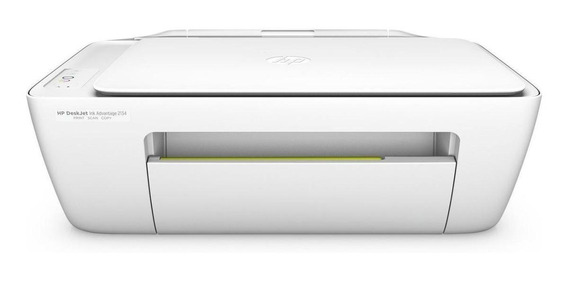 Impresora a color multifunción HP DeskJet Ink Advantage 2134 220V blanca