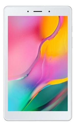 """Imagen 1 de 4 de Tablet  Samsung Galaxy Tab A 2019 SM-T295 8"""" con red móvil 32GB silver con 2GB de memoria RAM"""