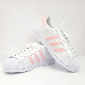 7144c32ca0b Tenis Adidas Superstar Rosa Original Masculino Outras Marcas ...
