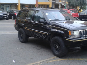Remato Jeep Grand Cherokee 1995 4x4 Con Blockaje Y A Glp